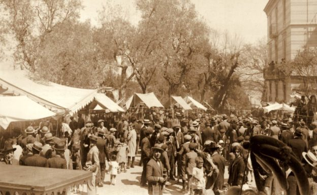 'O Lunnedì 'e Pozzano (foto anni '30)