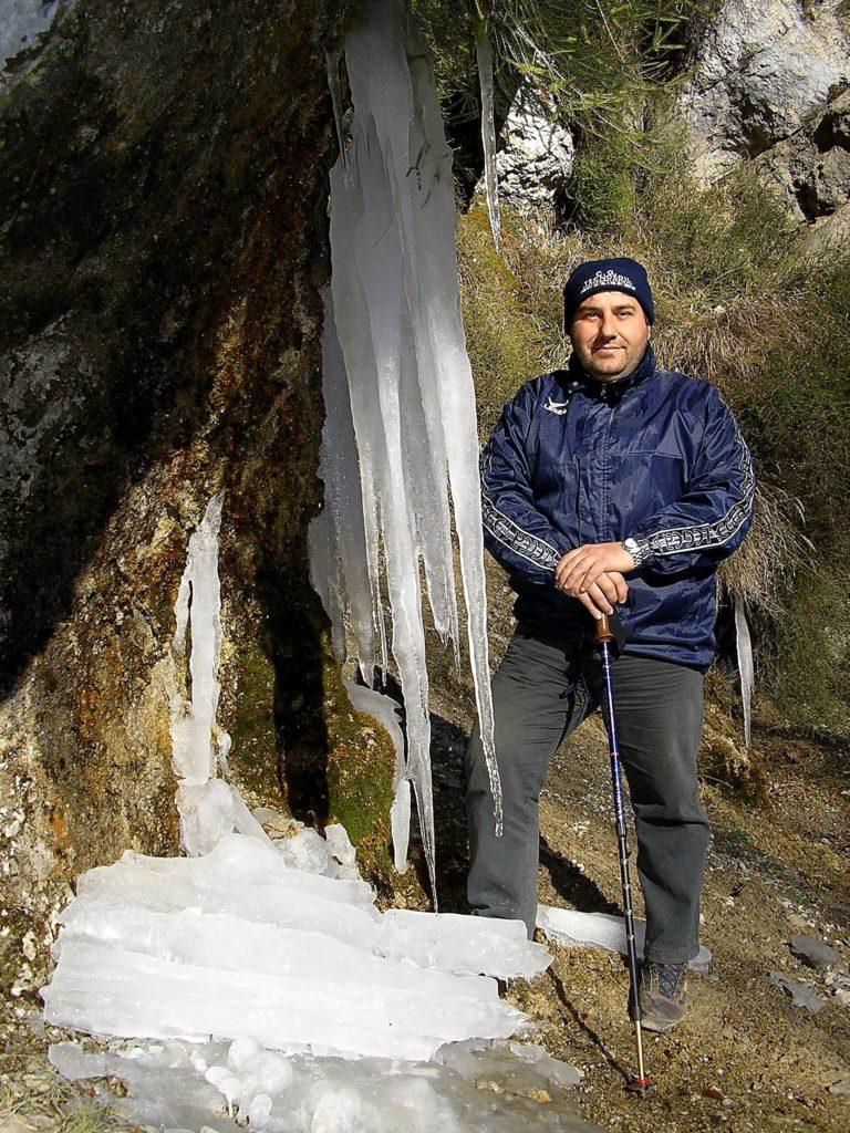 Sculture di ghiaccio (foto Maurizio Cuomo)