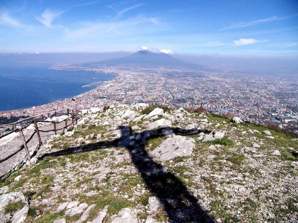 Il golfo di Stabia da Monte Pendolo (foto Ferdinando Fontanella)