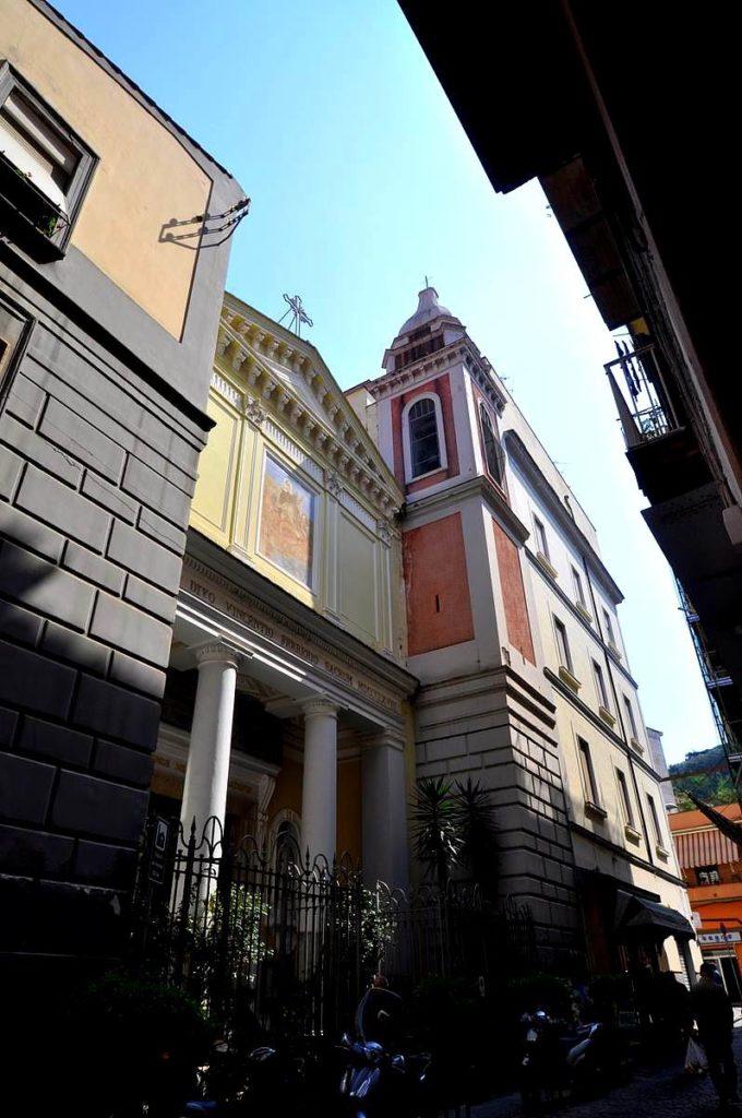 Chiesa parrocchiale di S. Vincenzo Ferreri (foto Martina Cesarano)
