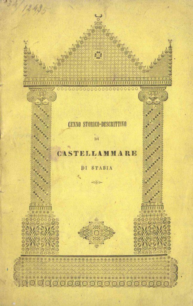 Cenno storico-descrittivo della città di Castellammare di Stabia (1842)