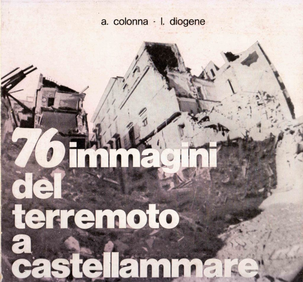 76 immagini del terremoto a Castellammare (1981)