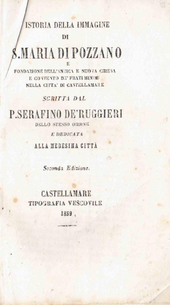 Istoria della immagine di S. Maria di Pozzano (1859)
