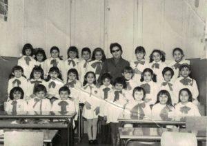 Basilio Cecchi - Prima elementare - Anno 1969/70. Maestra Lomiento Carmela.