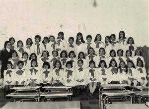 Basilio Cecchi - Quarta elementare - Anno 1972/73. Maestra Lomiento Carmela.. Si ringrazia la sig.ra Giuseppina Campaniello per la gentile concessione.