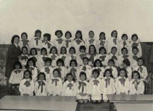 Basilio Cecchi - Terza elementare - Anno 1971/72. Maestra Lomiento Carmela.. Si ringrazia la sig.ra Giuseppina Campaniello per la gentile concessione.