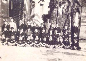 V elementare 1958 (fronte)