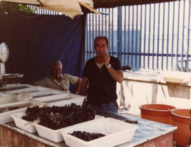 Salvatore 'o cuzzucaro (foto gentilmente concessa dal figlio Leopoldo)