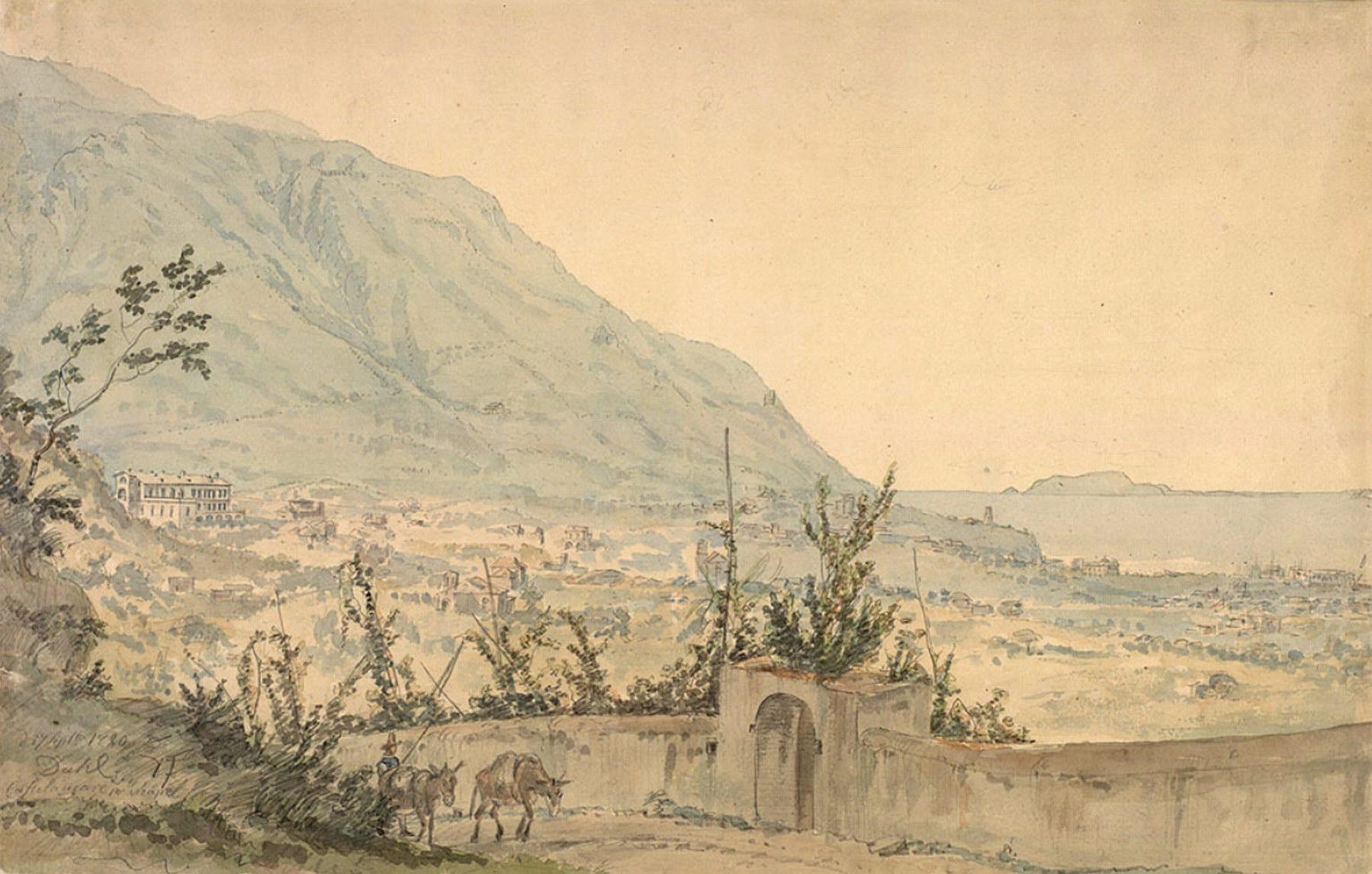 Utsikt over Castellammare - Dahl