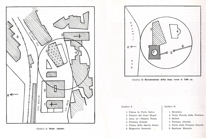 La zona della Fontana Grande, estratto pag. 12 e 13.