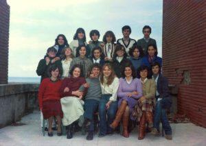Augusto Graziani - Primo anno superiori - Anno 1977-78