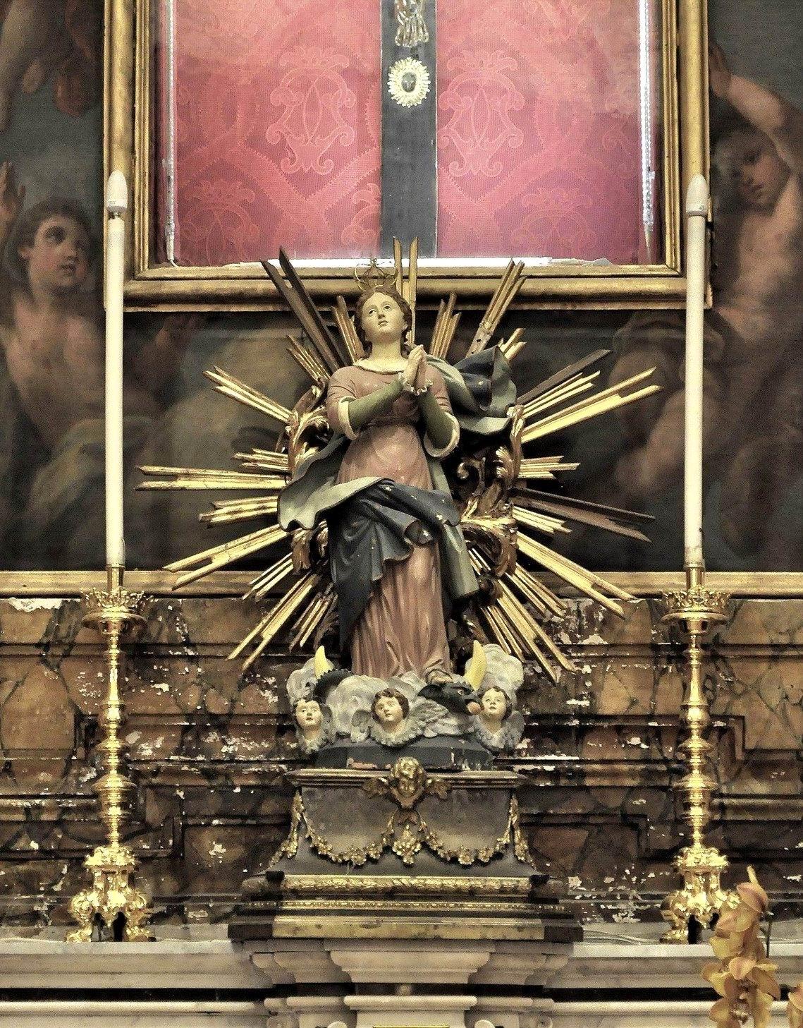 Immacolata - Basilica Santuario di Santa Maria di Pozzano (foto Enzo Cesarano)