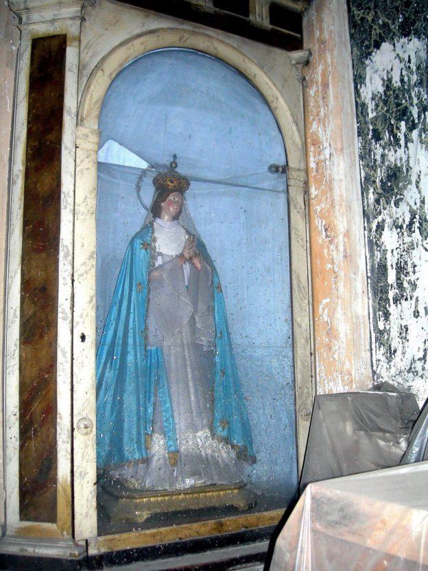 Immacolata - Chiesa di Santa Maria di Portosalvo. Anno 2007 (foto Giuseppe Zingone)
