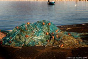 Reti da pescatore (foto Andrea De Martino)