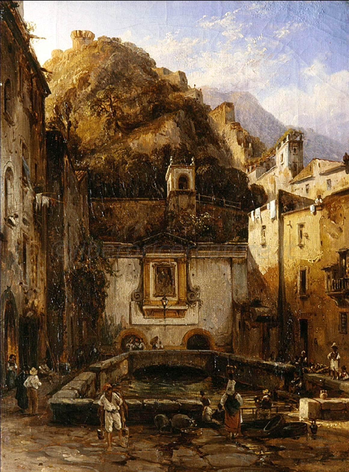 Fontana Grande (1820). Silvester Scedrin