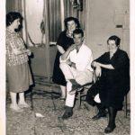 Inizio anni '60 Scanzano, ritratto di famiglia (foto gentilmente concessa dal sig. Giuseppe Iorio)