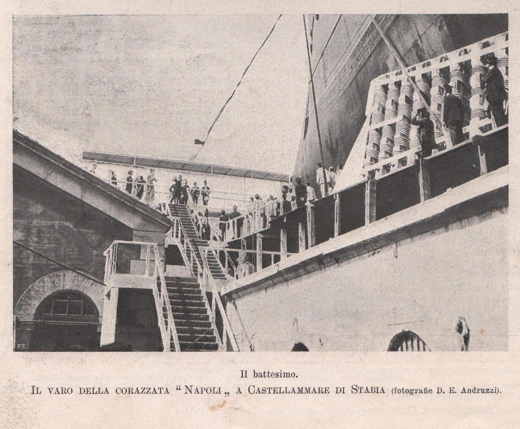 La nave corazzata Napoli