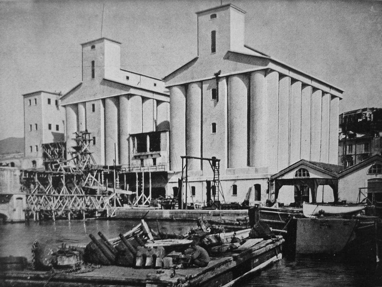 Il nuovo impianto ampliato con la costruzione del silos n. 2