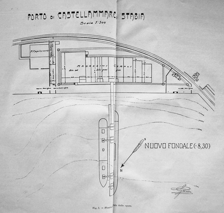 Planimetria dell'area dei Magazzini Generali