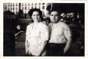 Antonio Spagnuolo e consorte (foto di proprietà di Rosalba Spagnuolo)