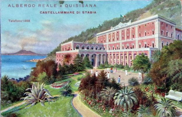 La Reggia di Quisisana, cartolina, collezione privata Giuseppe Zingone