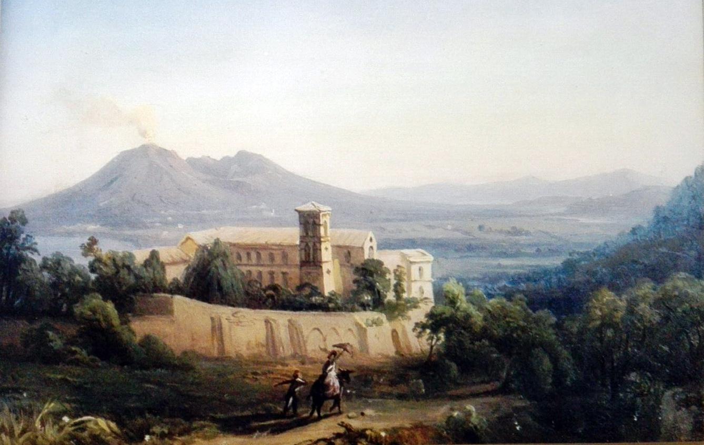 Ignoto, Palazzo Reale di Quisisana, tratto da Domus de Loco Sano