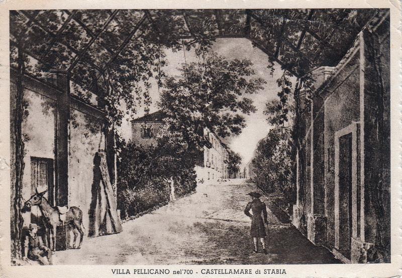 Villa Pellicano nel '700