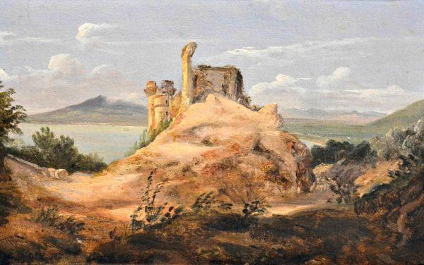 Anton Sminck Pitloo, Il Castello