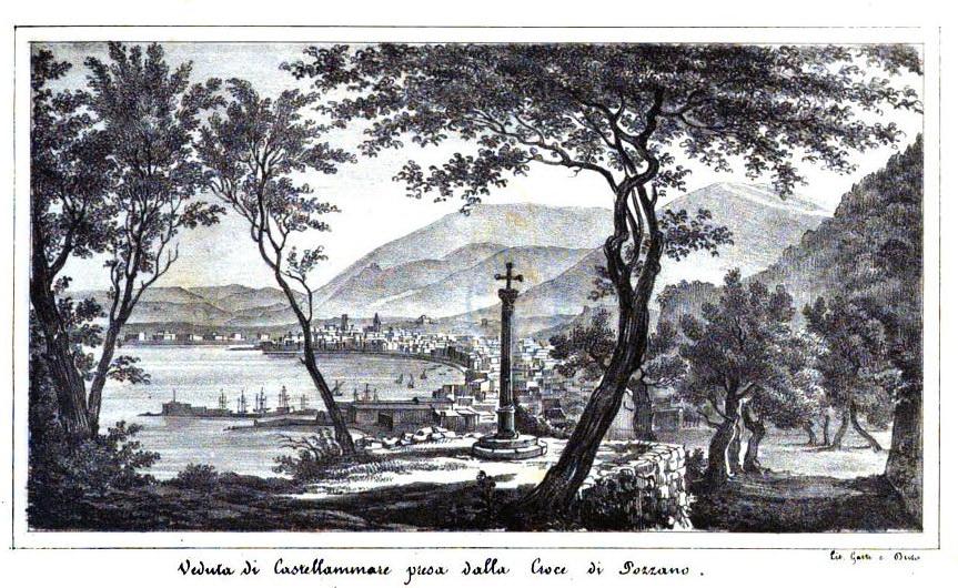 Panorama da Pozzano, tratta da Catello Parisi, (Google libri)