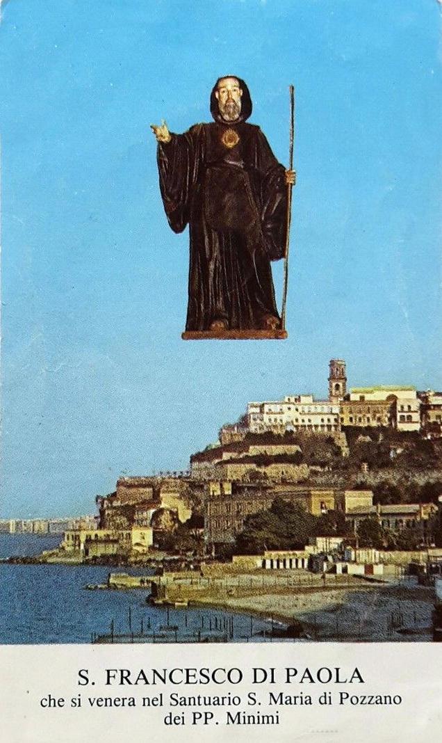 San Francesco di Paola e la Basilica di Pozzano