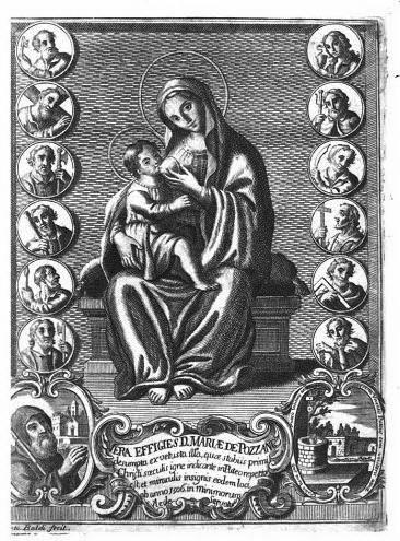 La Madonna di Pozzano, tratta dal libro del De' Ruggieri