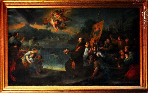Fra Bartolomeo Rosa e il rinvenimento del Crocifisso, foto Enzo Cesarano