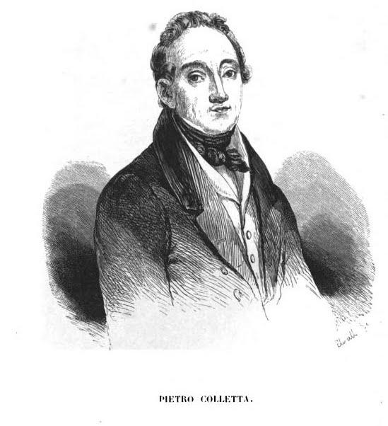 Pietro Colletta, autore di Storia del Reame di Napoli