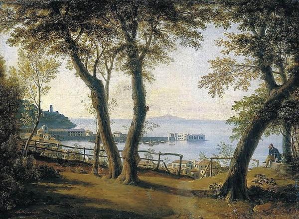 Maxim Vorobies, Harbour of Castellammare di Stabia, 1840
