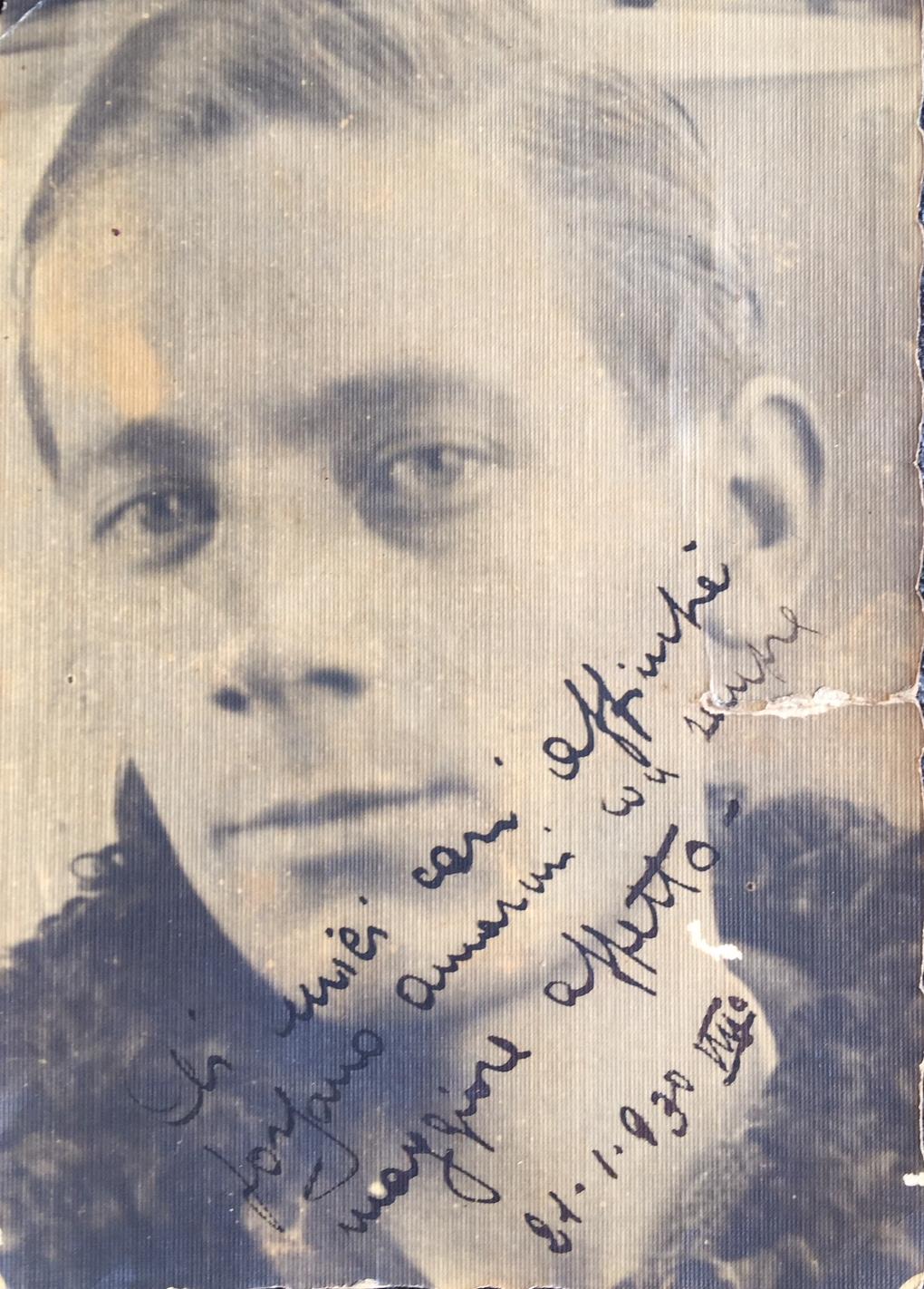 Il Sergente motorista Giovanni Filosa