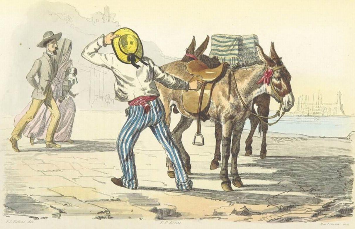 Boucard (1853) il ciucciaro (coll. Gaetano Fontana)