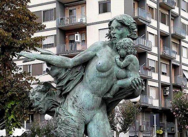 Allegoria di Stabia - particolare (foto Maurizio Cuomo)