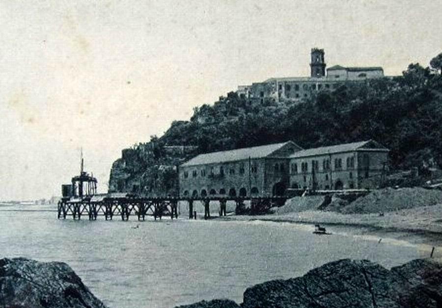 Colonia dei Ferrovieri - Pozzano (archivio liberoricercatore.it)