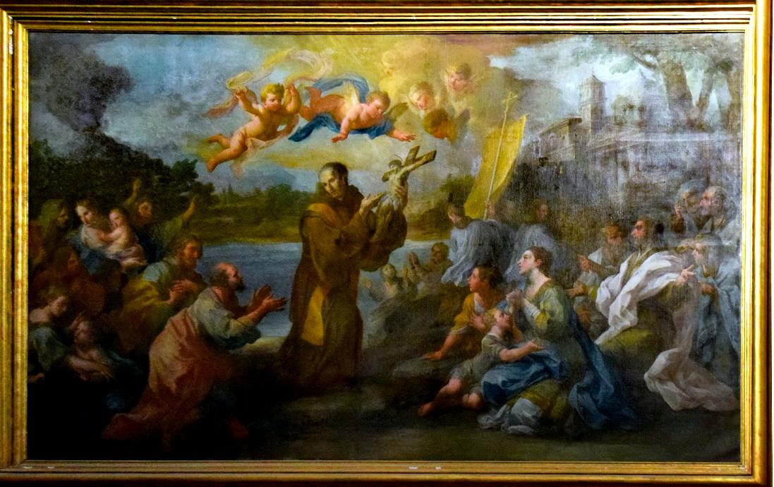 Fra Bartolomeo Rosa con il Crocifisso, Foto Enzo Cesarano