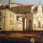 Gabriele Carelli, Castellammare di Stabia, olio su carta 22x39, Museo dello Splendore di Giulianova