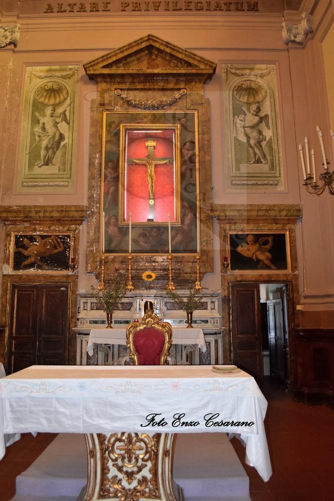 Il Crocifisso di Pozzano, foto Enzo Cesarano