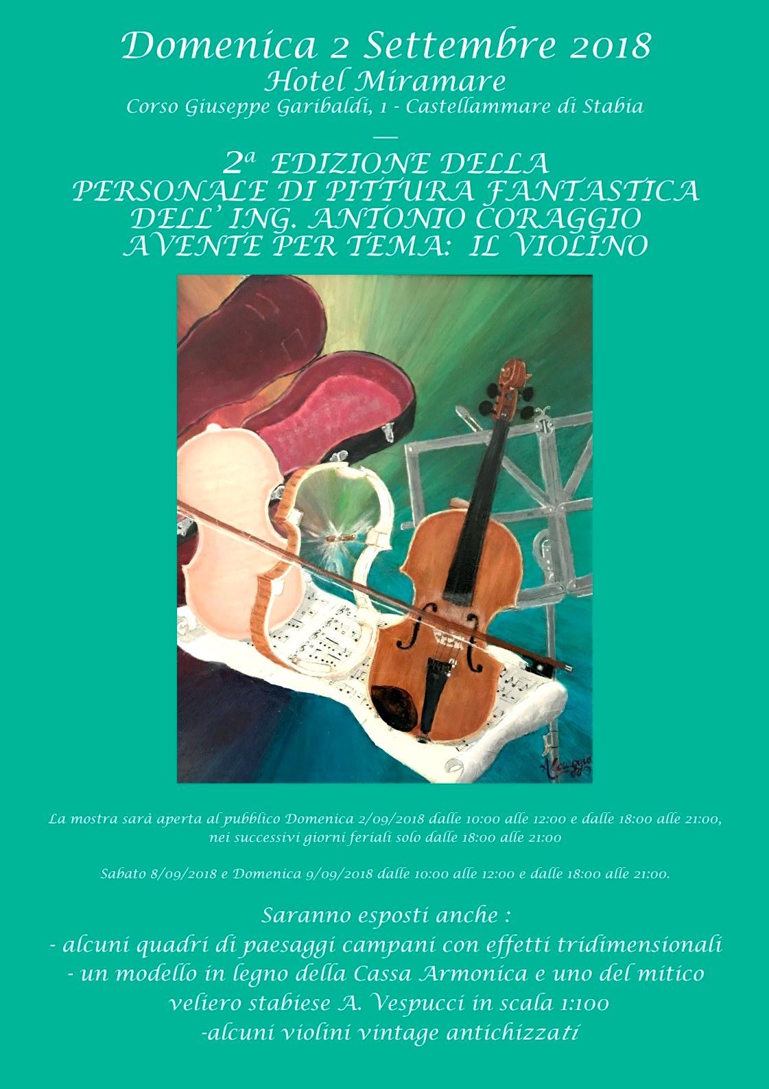Personale di Pittura - Antonio Coraggio 2^ edizione
