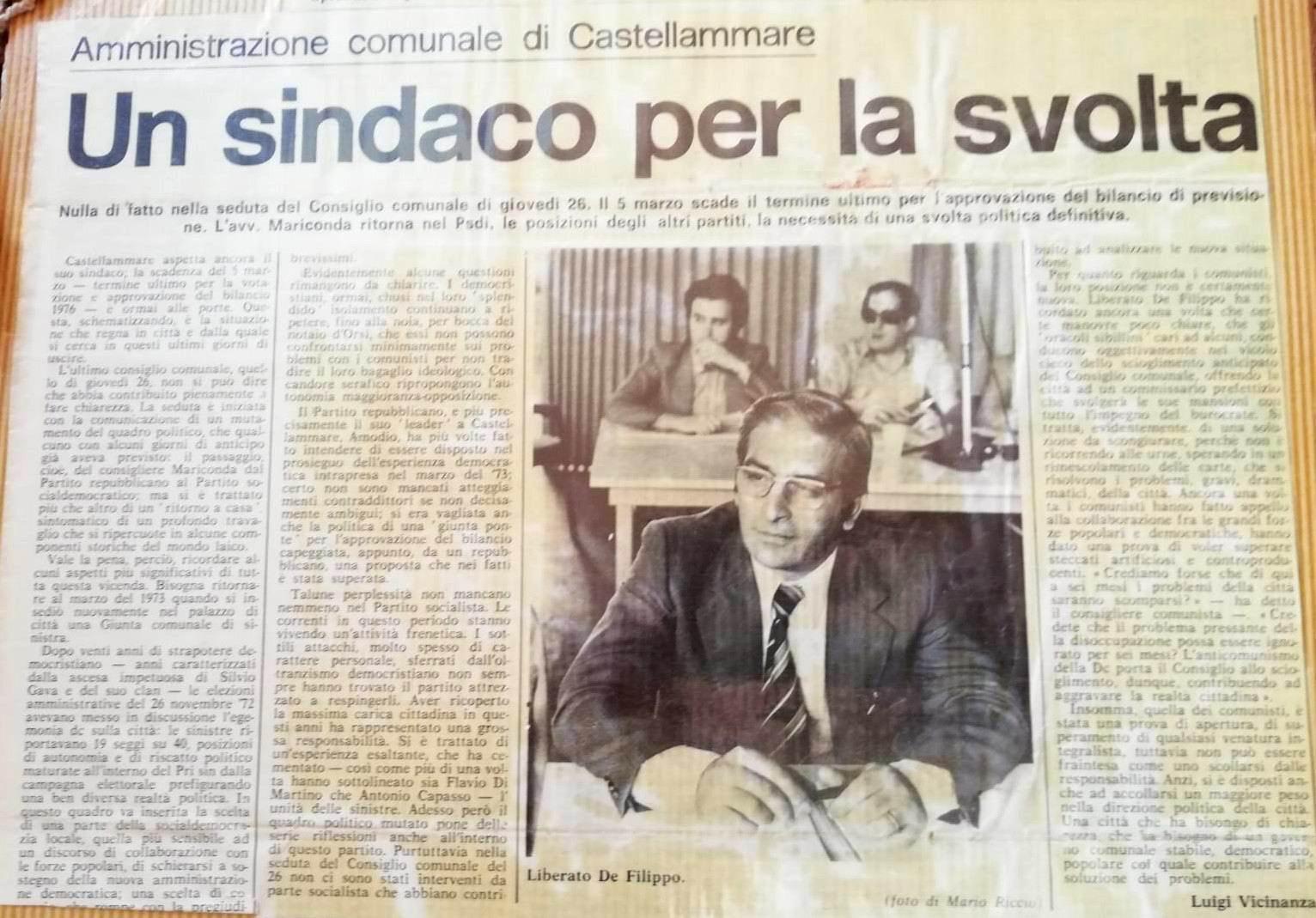Liberato De Filippo - 26 - 02 - 1977