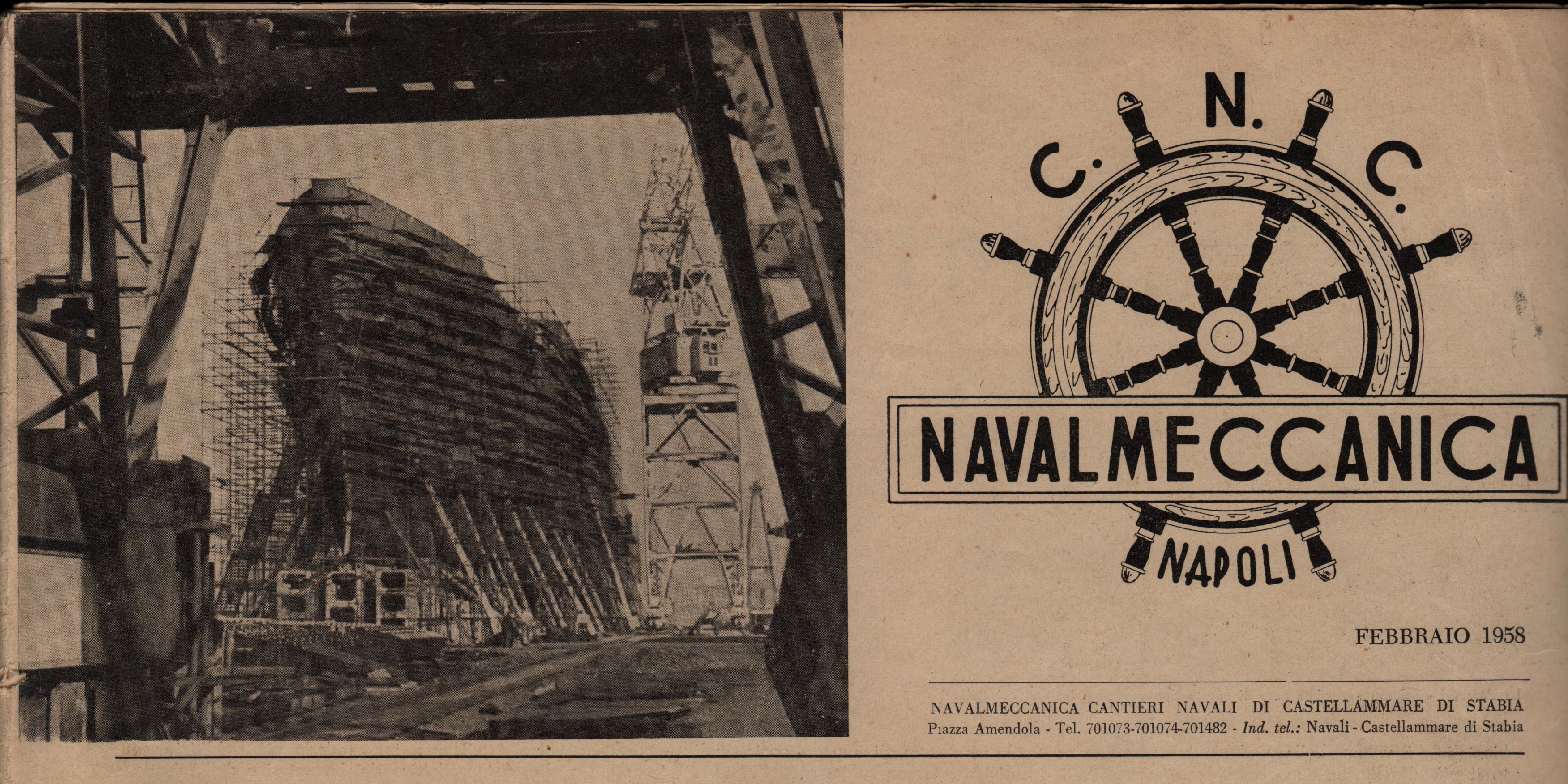 La Navalmeccanica di Castellammare di Stabia (anno 1958)