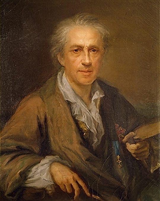 Giuseppe Bonito - autoritratto