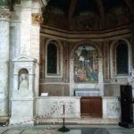 Santa Maria del Popolo, Cappella della Rovere, Pinturicchio, Natività, foto Giuseppe Zingone