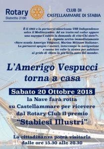 Il Vespucci torna a casa (locandina evento)