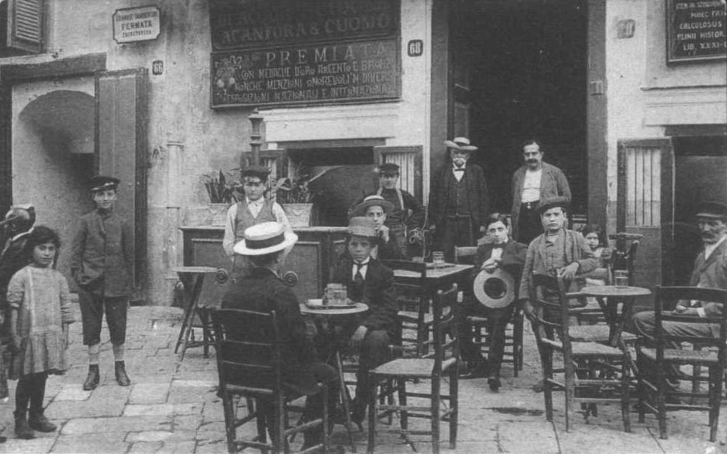 Castellammare - Strada Benedetto Brin (inizi del '900)