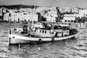 Porto di Pozzuoli - Traghetto per Ischia '50