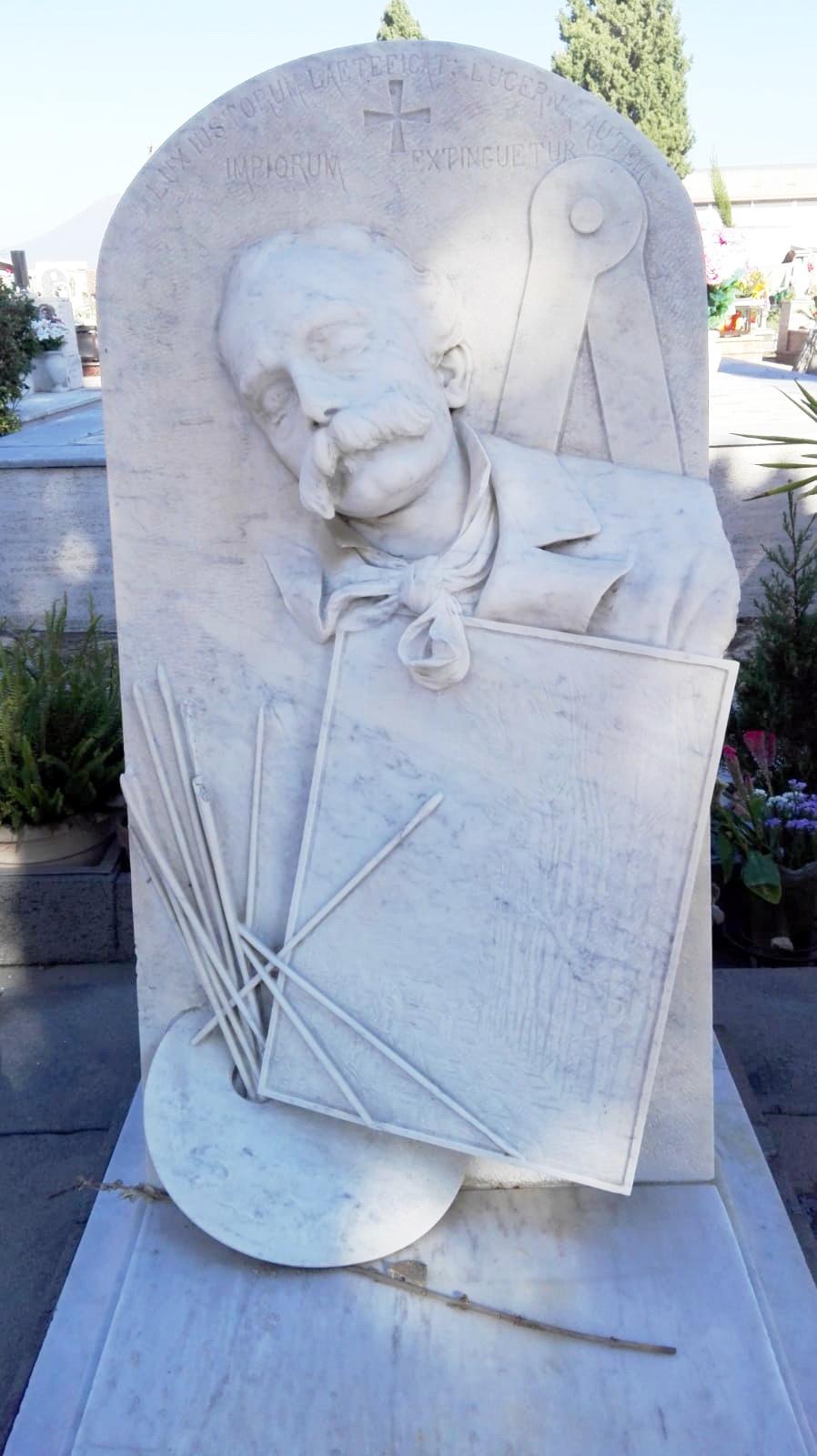 Errico Gaeta, cimitero vecchio di Castellammare, foto Maurizio Cuomo
